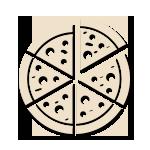pizza cotta a legna